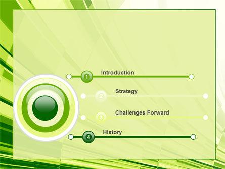 Abstract Fan PowerPoint Template, Slide 3, 10589, Abstract/Textures — PoweredTemplate.com
