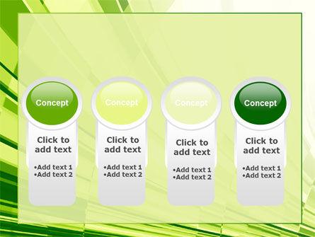 Abstract Fan PowerPoint Template Slide 5