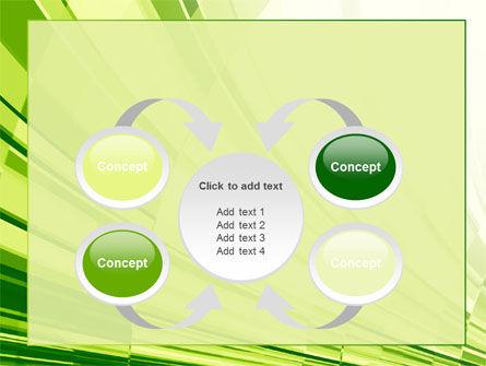 Abstract Fan PowerPoint Template Slide 6