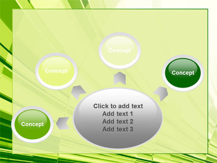 Abstract Fan PowerPoint Template Slide 7