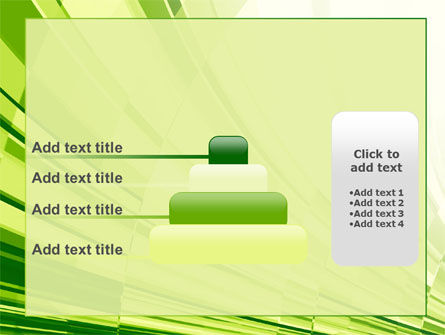 Abstract Fan PowerPoint Template Slide 8