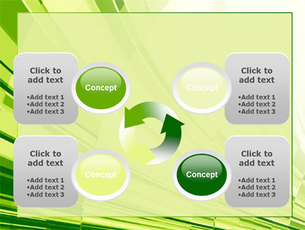 Abstract Fan PowerPoint Template Slide 9