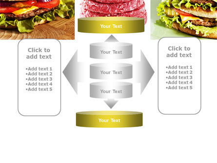 Fast Food Set PowerPoint Template Slide 13