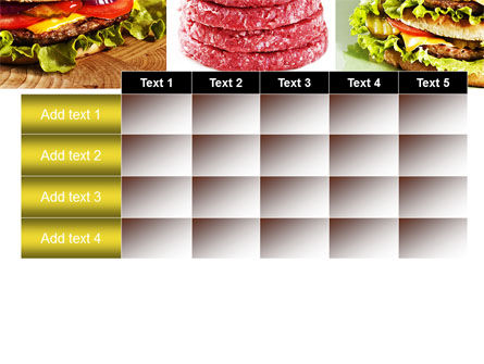 Fast Food Set PowerPoint Template Slide 15