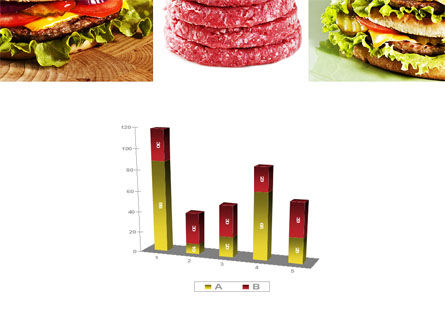 Fast Food Set PowerPoint Template Slide 17