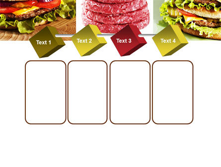 Fast Food Set PowerPoint Template Slide 18
