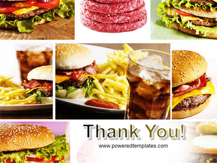 Fast Food Set PowerPoint Template Slide 20