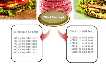 Fast Food Set PowerPoint Template Slide 4