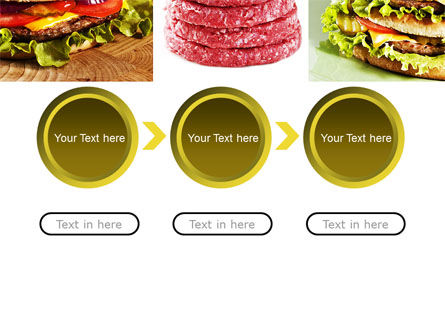 Fast Food Set PowerPoint Template Slide 5