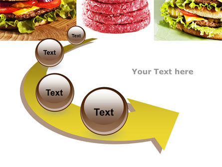 Fast Food Set PowerPoint Template Slide 6