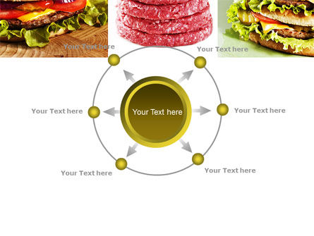 Fast Food Set PowerPoint Template Slide 7