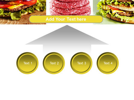 Fast Food Set PowerPoint Template Slide 8