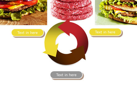 Fast Food Set PowerPoint Template Slide 9
