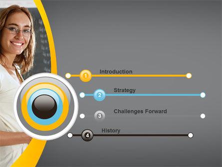 Teacher PowerPoint Template, Slide 3, 10596, People — PoweredTemplate.com