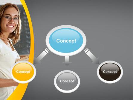 Teacher PowerPoint Template, Slide 4, 10596, People — PoweredTemplate.com