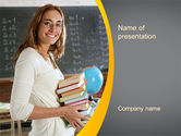 People: Teacher PowerPoint Template #10596
