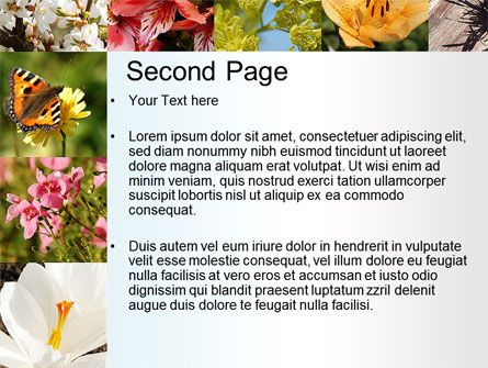 Variety of Flowers PowerPoint Template Slide 2