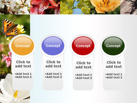 Variety of Flowers PowerPoint Template Slide 5