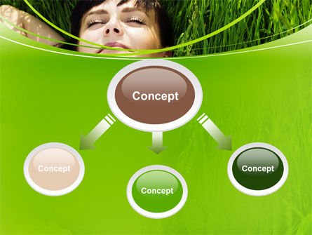 Peacefulness PowerPoint Template, Slide 4, 10598, People — PoweredTemplate.com