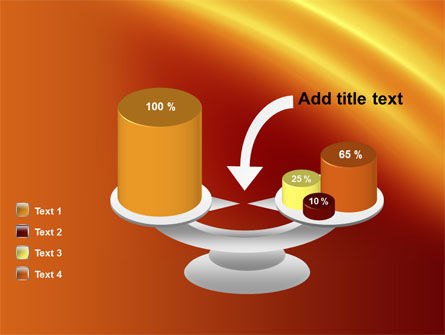 Orange Background PowerPoint Template Slide 10