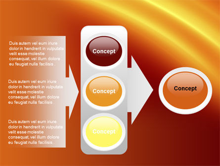 Orange Background PowerPoint Template Slide 11
