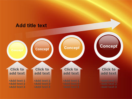 Orange Background PowerPoint Template Slide 13