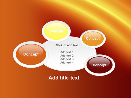 Orange Background PowerPoint Template Slide 16