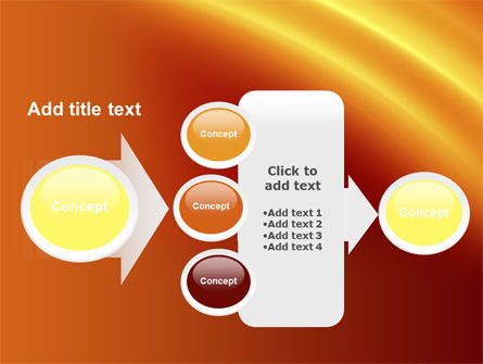 Orange Background PowerPoint Template Slide 17