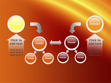 Orange Background PowerPoint Template Slide 19