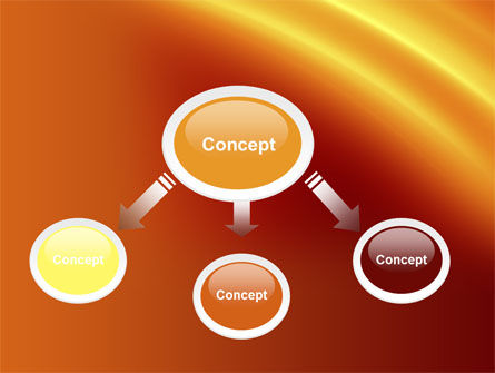 Orange Background PowerPoint Template, Slide 4, 10599, Abstract/Textures — PoweredTemplate.com