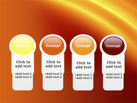 Orange Background PowerPoint Template Slide 5