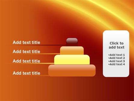 Orange Background PowerPoint Template Slide 8