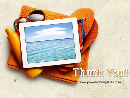 Sea Holydays PowerPoint Template Slide 20