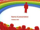 Careers/Industry: プレゼンテーションをする - PowerPointテンプレート #10601