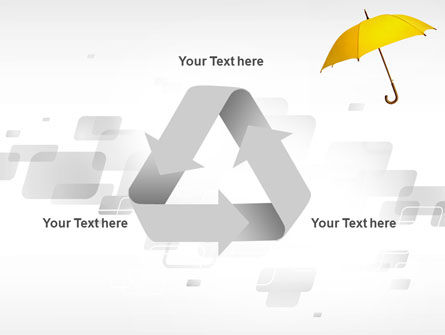 Yellow Umbrella PowerPoint Template Slide 10