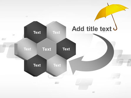 Yellow Umbrella PowerPoint Template Slide 11