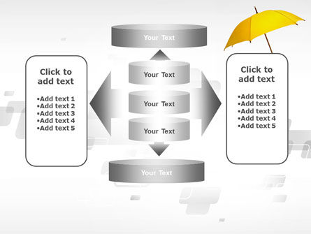 Yellow Umbrella PowerPoint Template Slide 13
