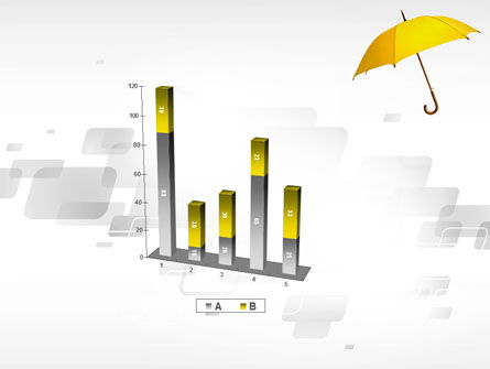Yellow Umbrella PowerPoint Template Slide 17