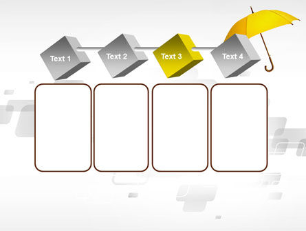 Yellow Umbrella PowerPoint Template Slide 18