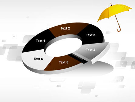 Yellow Umbrella PowerPoint Template Slide 19