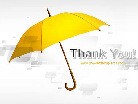 Yellow Umbrella PowerPoint Template Slide 20