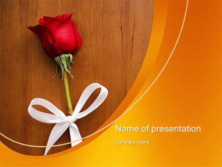 Romantic PowerPoint Template, 10603, Holiday/Special Occasion — PoweredTemplate.com