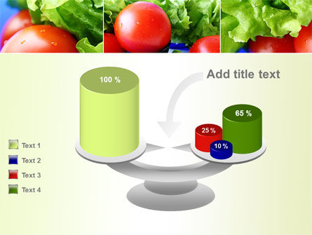 Lettuce and Tomato PowerPoint Template Slide 10