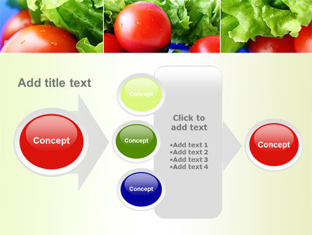 Lettuce and Tomato PowerPoint Template Slide 17