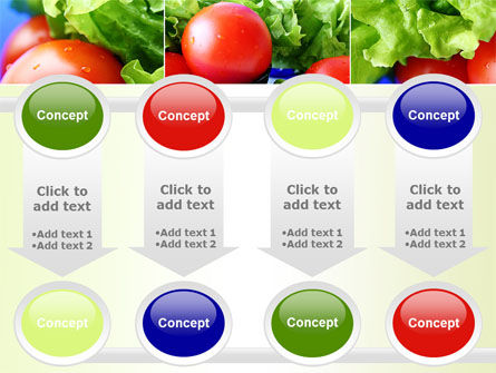 Lettuce and Tomato PowerPoint Template Slide 18