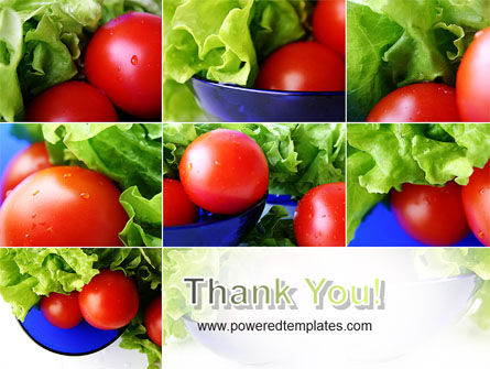 Lettuce and Tomato PowerPoint Template Slide 20