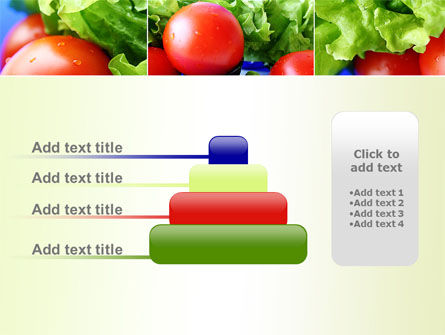 Lettuce and Tomato PowerPoint Template Slide 8