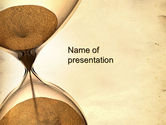 Consulting: Time is Up PowerPoint Template #10608