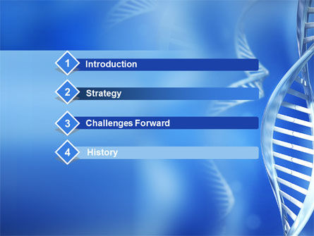 DNA Theme PowerPoint Template Slide 3