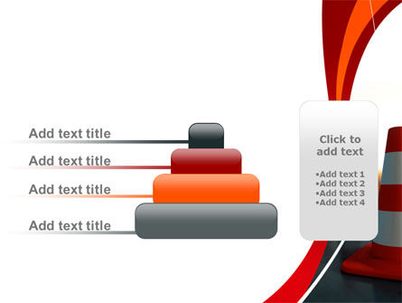Traffic Pylons PowerPoint Template Slide 8